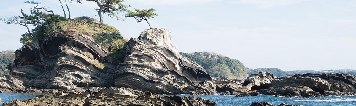 荒崎海岸 弁天島