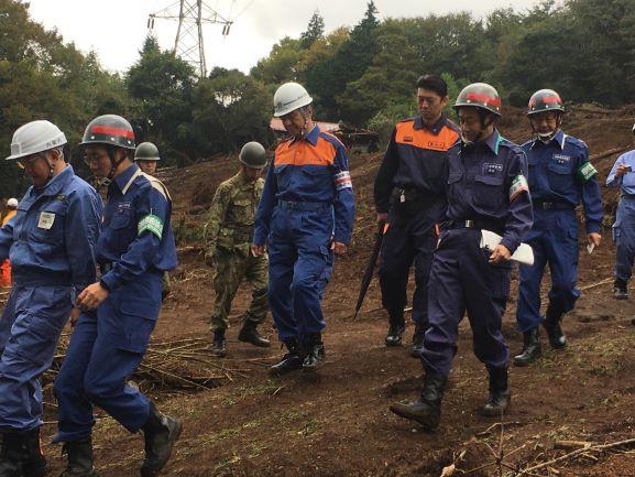 台風第15号、第19号の襲来 応急対応、復旧対策に全力